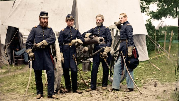Blood Glory The Civil War In Color Pass The Civil War Pictures In Color