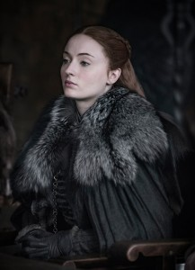Sophie Turner as Sansa Stark – Photo: Helen Sloan/HBO Maisie